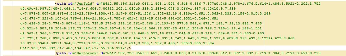 Code für entsprechende Kartendarstellung